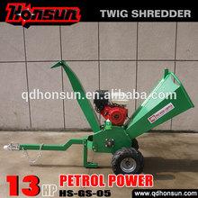 (HS-GS-05) 13Honda GX390, Kohler Command, Briggs & Stratton powered gasoline engine mini garden chipper