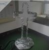 Blank K9 Crystal Religious Christian Gifts Crystal Cross
