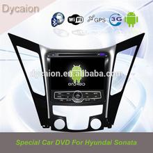 car dvd gps player for Hyundai sonata with wifi 3g