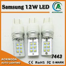7443 T20 led Samsung 12W