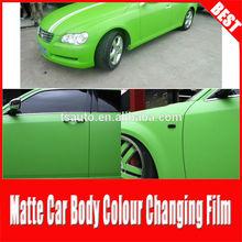TS Rohs Certificate air free bubbles 1.52*30m apple green matte vinil adesivo car wrap film