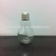 100ml round bulb shape glass soy sauce/vinegar/sesame oil bottle with twist off silver metal caps