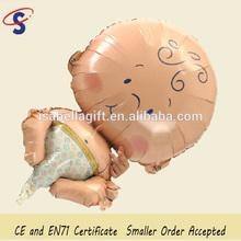 Wholesale cheap big foil hot sale baby shower balloon