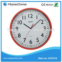 (HC2312)Plastic wall clock export companies in manila philippines