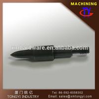 Factory price Mini steel bullet customized processing 125 grain black