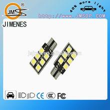 12v AC width 5w 7.5w T10 LED auto bulb