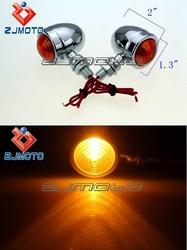 Universal Motorcycle Turn Signal Lights Bulb Suitable For Choppers Classic Honda Yamaha Kawasaki Suzuki