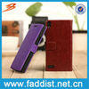 Low Price wallet card holder flip case for huawei ascend p6