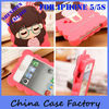 Lovely Cartoon Silicon Soft Case Cover For iPhone 5 5s