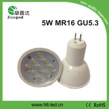 hot!! high lumen gu10 spot light high power 3w led spot light gu10 gu5.3 cheapest!!