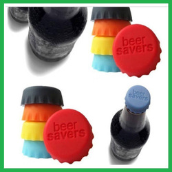 Rusable food grade silicone beer cap,beer bottle cover