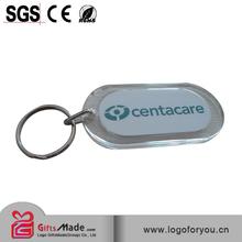 Custom 3D Bowling acrylic key rings wholesales