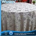 tejido 5 estrella de ganchillo falda de mesa en buena calidad