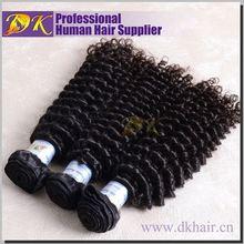 Guangzhou DK Hair High quality Brazilian curly hair,virgin deep curly
