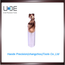 HSC and dry machining productivity gains tungsten carbide step drill bits for hard manterials