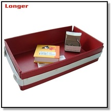 Office desk set faux leather paper tray LG8063