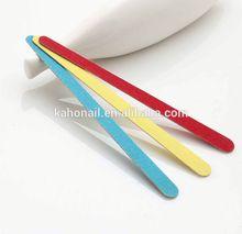 Fashion beauty wood Nail File,2014 new good sales innovational product disposable nail file buffer for nail tools
