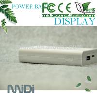 7800Mah 5V 2A Lithium universal portable power bank case for samsung