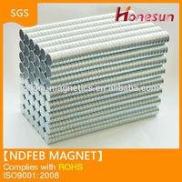 zinc coating disc 8x2mm N35 neodymium magnet
