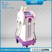 8 in 1 ipl rf elight cavitation vacuum nd yad laser body slimming massager