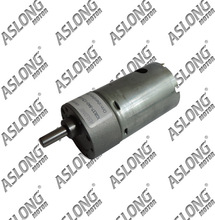 ASLONG 12-1600rpm high torque JGB37-540 compact geared motor electric motor with reduction gear