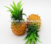 Fake fruit pineapple,imitation fruit,decorative fruit and display show
