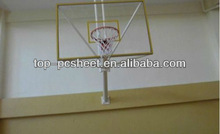 Polycarbonate basketball backboard
