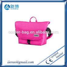 2014 lastest fashion high quality pink leather camera bag