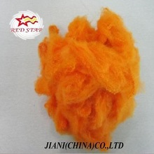 Bright colored polyester fiber with silicon for spining,filling material,psf,siliconized polyester fiber pillow