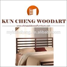 Queen Size White Freestanding Wooden Headboard/Wooden Dark Pine Twin Bed Frame Headboard