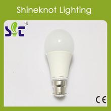 Hot selling B22/e27 cap adapter 7W led bulb