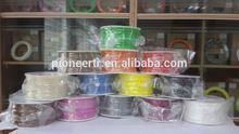 Laimpresora 3d filamento directamente de fábrica, de plástico transparente de la barra;