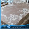 tissu organza gros plaine vente chaude motif fleur de tissu de table