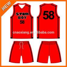 new design sublimation printing basketball uniform