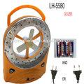 Lh-5580 uso en el hogar del ventilador de techo con luz