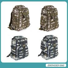 Large capacity nylon military duffel bag