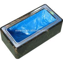 Disposable shoe cover dispenser medical supply