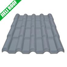 grey synthetic resin ridge housing roofing slate tile