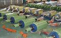 grande furo duplo efeito servomotor hidráulico do cilindro