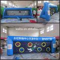 2014 venda quente personalizar da baliza de futebol para a venda, tiro de futebol inflável