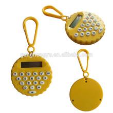 Tiny tiny circular key buckles gift calculators