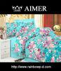 Fashion design colorfull flower 3d print bedding se