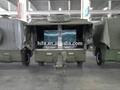 Militar& de la policía de la fuerza armada de campo cocina móvil equipo de remolque