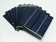 low price mini solar panel 3W195*125mm mono solar pv module