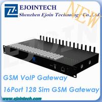 12 Months Warranty ! ! Ejoin New GoIP 16 port 128sim voip GSM gateway 32 ports goip gateway