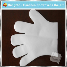 Made in China Customized Top Quality Anti-bacterial Non-woven Fabric Medical Glove