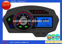 motorcycle digital tachometer LCD speedometer for Sport bike Bashan BS150-15