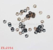 Populaire bricolage Nail Art décoration métal Slice métal mou feuille, Bon prix imprimante à ongles