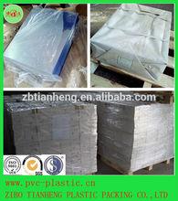 0.3mm Thin Cheap Rigid Transparent Calender Offset PVC Sheet