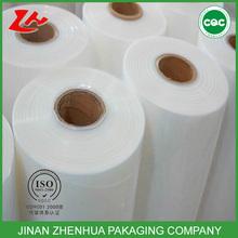 china manufacturer soft super clear PE stretch film jumbo roll